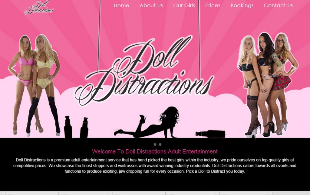 doll_distractions_website_goldcoast_screenshot