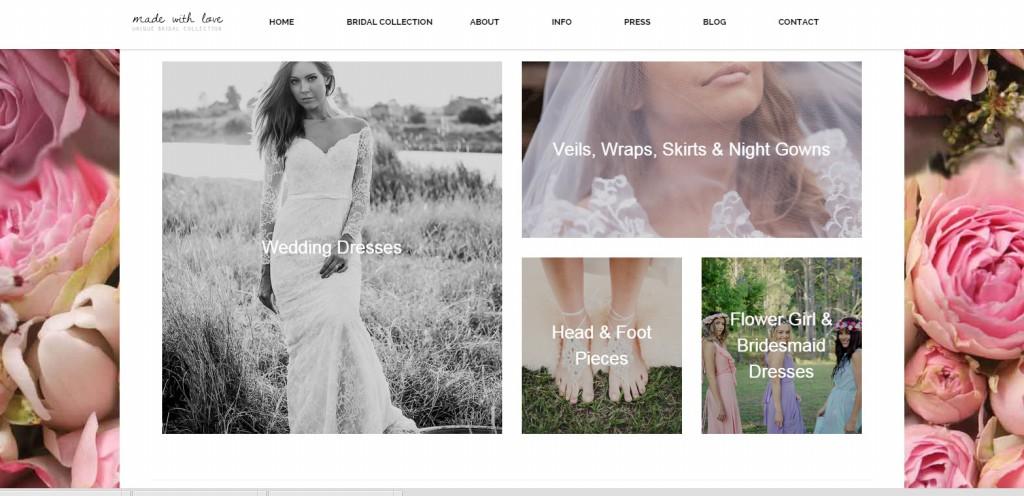 Premium eccommerce website design